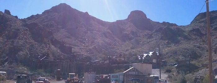 Eldorado Canyon Mine is one of Las Vegas' Area Hidden Gems.