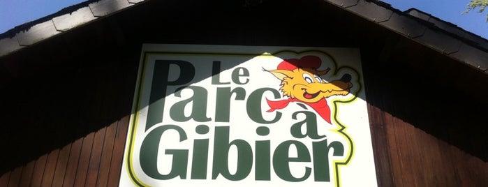 Le Parc à Gibier is one of La Roche-en-Ardenne.