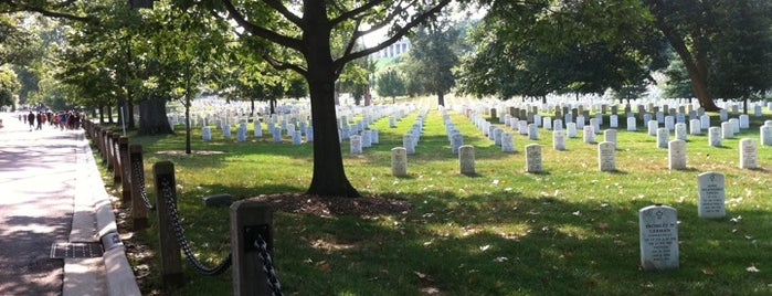 Arlington National Cemetery is one of Places that are checked off my Bucket List!.