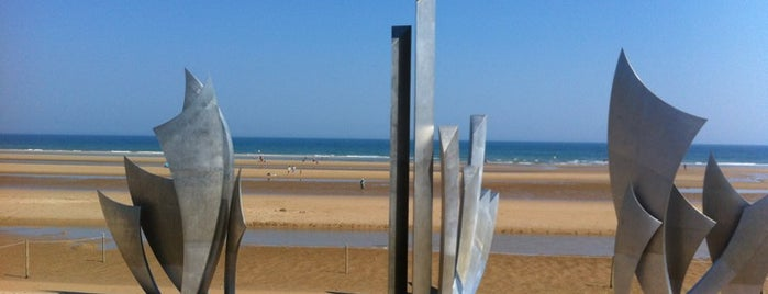 Omaha Beach is one of France.