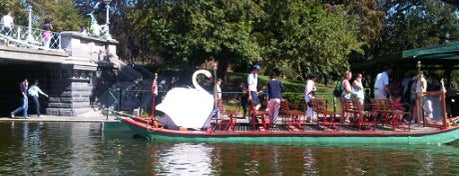 The Swan Boats is one of BUcket List.