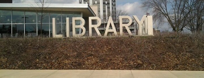 Champaign Public Library is one of Illinois's Greatest Places AIA.