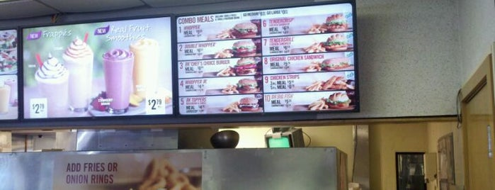Burger King is one of restaurants.