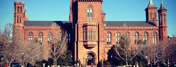 Smithsonian Institution Building (The Castle) is one of Wash.
