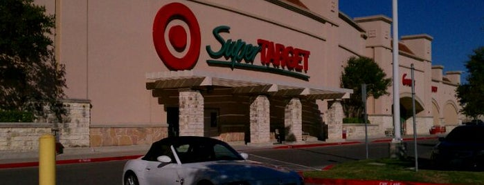 Target is one of Kim's Saved Places.