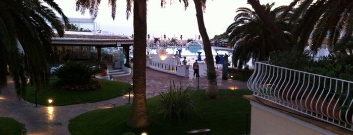 Quisisana Grand Hotel is one of Capri, Napoli.