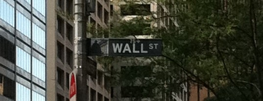Wall Street is one of Places that are checked off my Bucket List!.