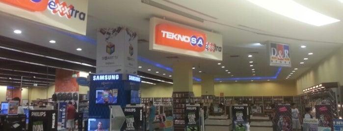 Teknosa Exxtra is one of Tempat yang Disimpan Yasemin Arzu.