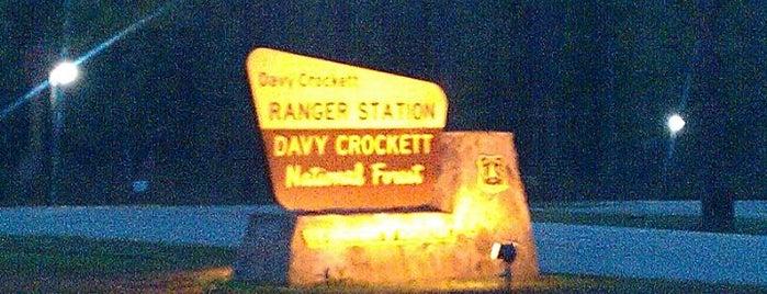 Davy Crockett National Forest is one of The Daytripper's Lufkin.