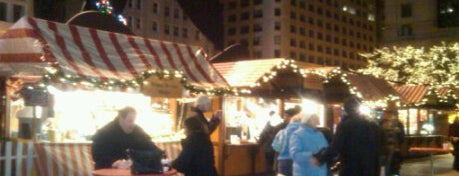 Christkindlmarket Chicago Lufthansa Festival Tent is one of Parents in Town!.
