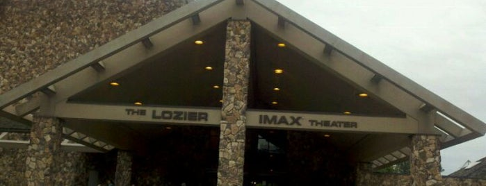 "Lozier IMAX is one of ""I'mmm bored...""."