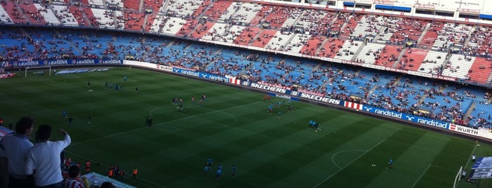 Estadio Vicente Calderón is one of Dieter's favourite spots in Madrid.