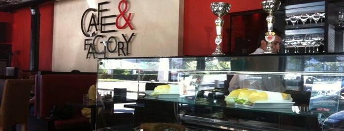 Cafe & Factory is one of Kafe-barovi Beograda.