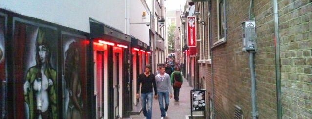 Quartiere a Luci Rosse di Amsterdam is one of Amsterdam.