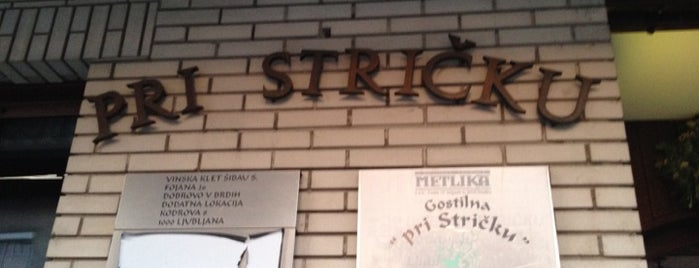 Gostilna Pri Stričku is one of Турне.