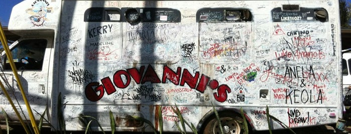Giovanni's Shrimp Truck is one of Oahu: The Gathering Place.