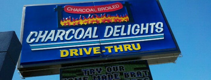 Charcoal Delights is one of Damn Good Burger.