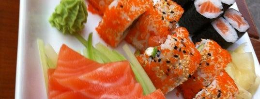 Hangi Sushi is one of สถานที่ที่ Peter ถูกใจ.