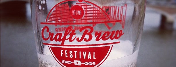 Iowa Craft Brew Festival 2012 is one of Drew's favorites.