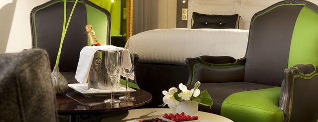 Renaissance Paris Le Parc Trocadero Hotel is one of Hotels.