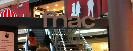 Fnac is one of Sitios frecuentes.