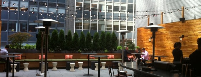 Aretsky's Patroon is one of Rooftop Bars with Drinks to get Drunk in NYC.