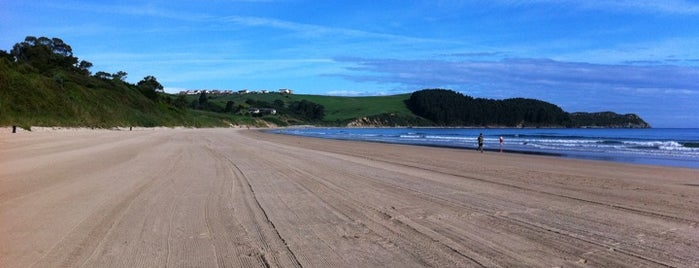 Playa de Oyambre is one of Playas de España: Cantabria.