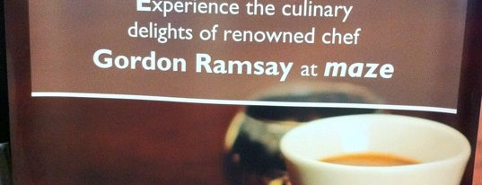 Maze by Gordon Ramsay is one of GCC Must visit.