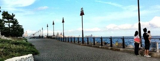 大黒海づり公園 is one of Lugares favoritos de Masahiro.