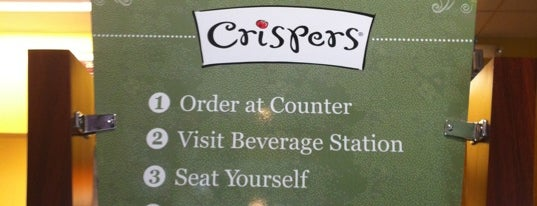 Crispers Fresh Salads, Soups and Sandwiches is one of Sarah 님이 좋아한 장소.
