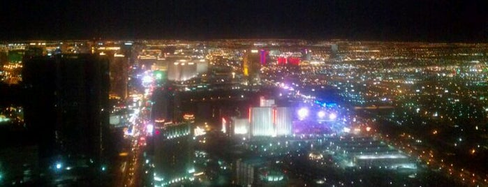 Stratosphere Tower Observation Deck is one of Vegas List.