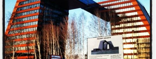 Центр Технологического Обеспечения Академпарка is one of Новосибирск.