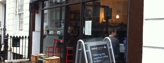 Taylor St Baristas is one of Brighton best coffee.