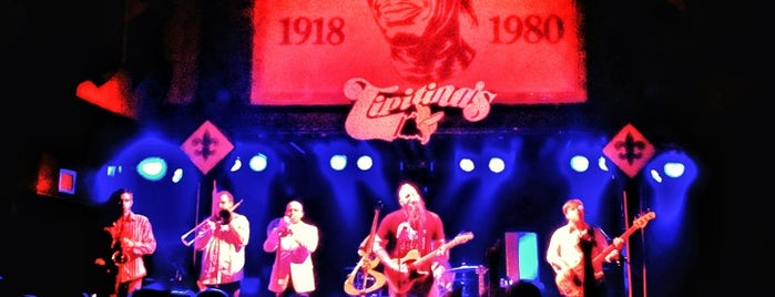 Tipitina's is one of 1000 Places To See Before You Die.