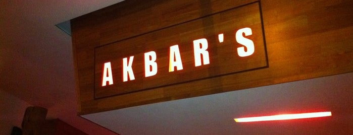 Akbar's is one of Manchester.