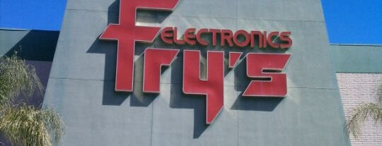 Fry's Electronics is one of Los Angeles.