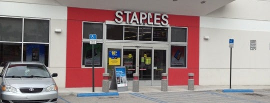 Staples is one of Miami.