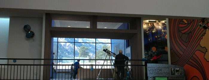 NCAR - National Center for Atmospheric Research is one of Crazy Colorado.
