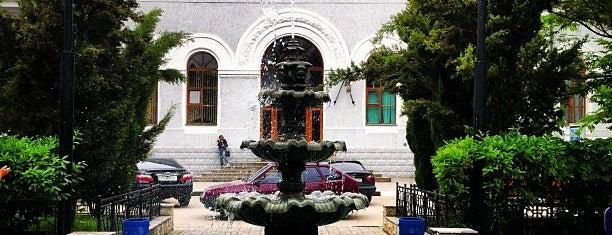 Железнодорожный вокзал «Севастополь» is one of Юля 님이 저장한 장소.