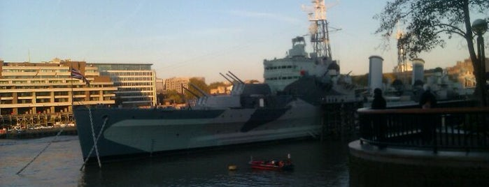 HMS Belfast is one of Top London attractions.