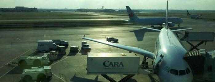 Toronto Pearson Uluslararası Havalimanı (YYZ) is one of Airports.