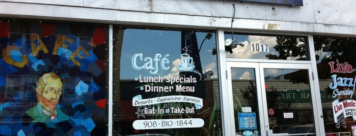 Van Gogh's Ear Cafe is one of Jersey food.
