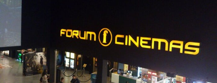Forum Cinemas is one of Justas's Liked Places.