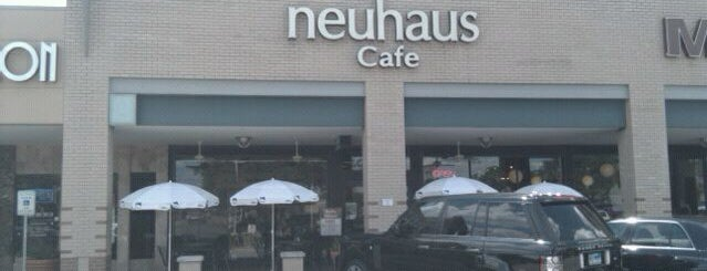 Neuhaus Cafe is one of Dog Friendly Places in Dallas.