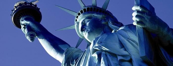 Estátua da Liberdade is one of New York City.