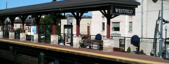 NJT- Westfield Station (RVL) is one of New Jersey Transit Train Stations.