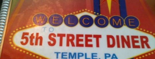 5th Street Diner is one of Favorite Food.