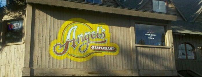 Angel's Restaurant is one of Lieux qui ont plu à Fabio.