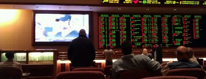 South Point Race & Sports Book is one of Lady Luck Vegas Suggests.