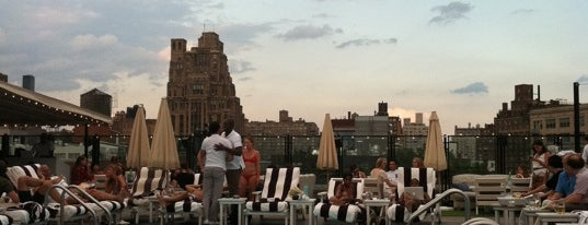 Soho House Rooftop is one of Best Rooftop and Outdoor Bars in New York City.
